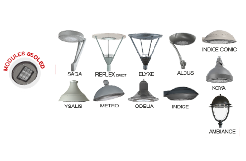 luminaires compatibles seoled